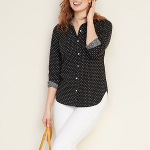 Old navy button up blouse